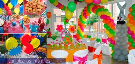 decoracion con globos cumpleaños