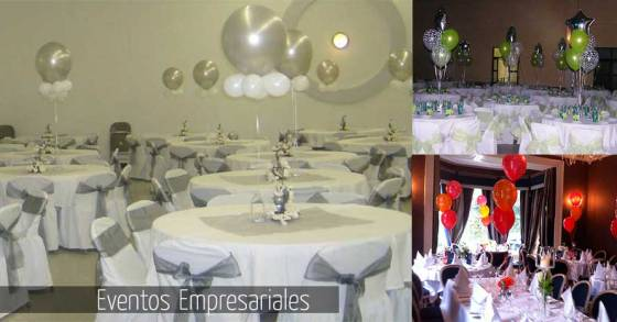 Decoracion con globos eventos