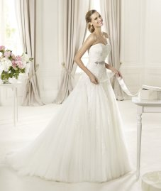 vestido de novia 2014 Pronovias