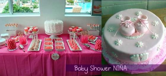 baby shower fiesta del bebé para niña