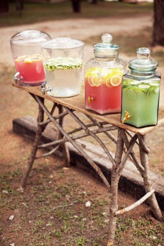 drink bar para bodas o eventos celebraciones coctails granizados
