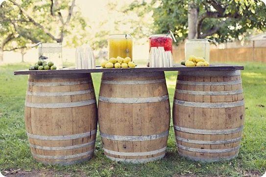 Drink bar para celebraciones