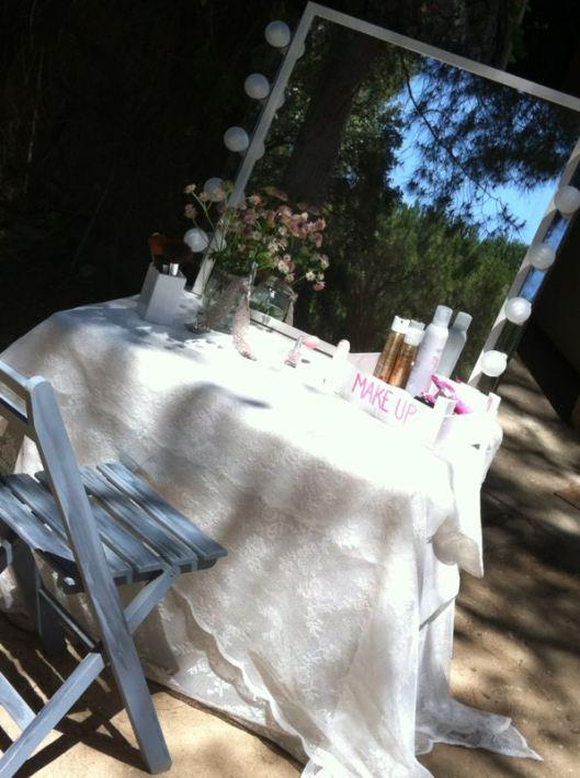 tocador boda para invitadas
