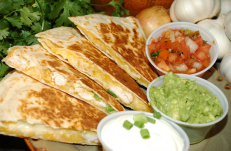 cocktail comida mexicana para banquete