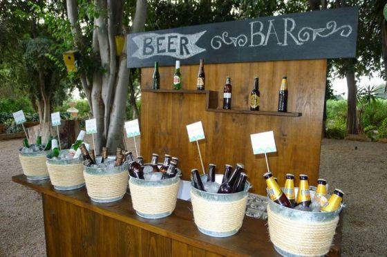 Bar de cervezas para eventos y bodas