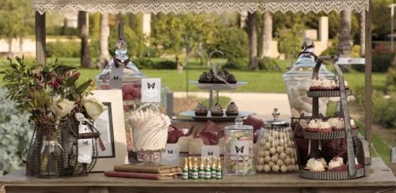 Mesas de Dulces y Chucherías