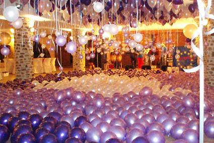 decoracion con globos para fiestas de graduacion graduaciones decoracion globos fiestas