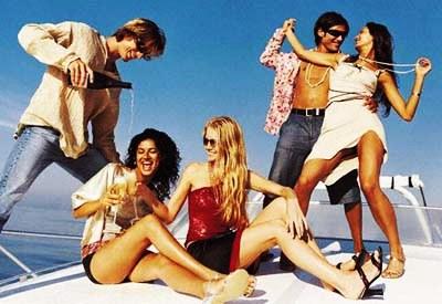 despedida de soltera fiestas con amigos en barco cumpleaños en barco
