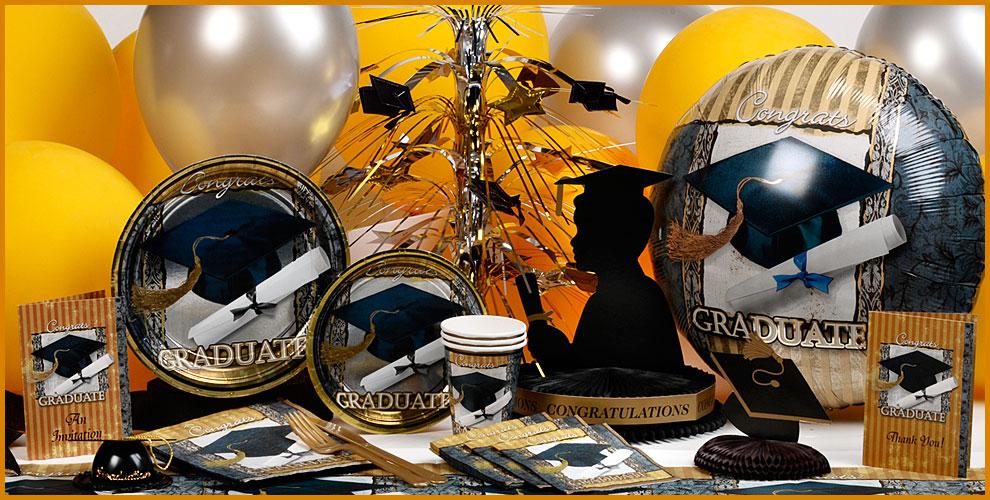 Fiestas de graduaci n lazos y corbatas for Decoracion graduacion en jardin