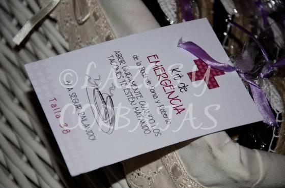 Alpargatas kit de emergencia bodas