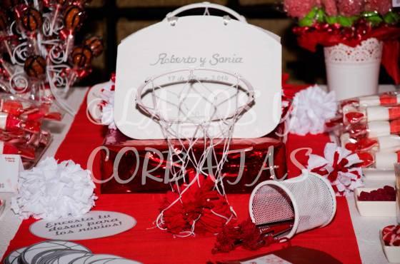mesas de dulces detalle deseos para los novios Lazos y Corbatas