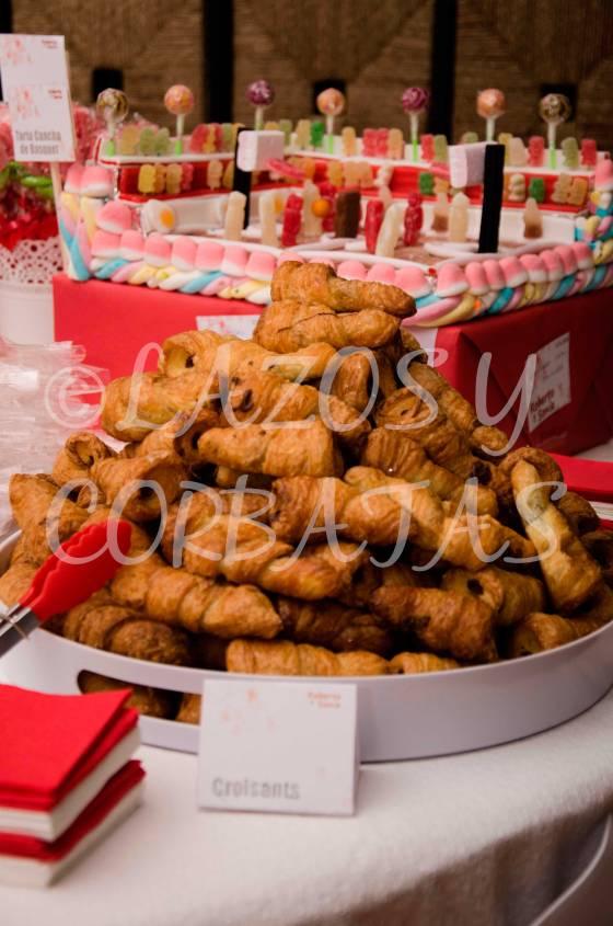 mesas de dulces Lazos y Corbatas