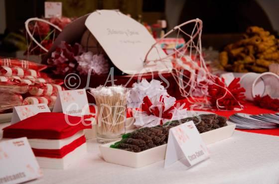 Lazos y Corbatas mesas de dulces