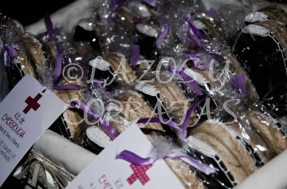 kits de emergencia bodas alpargatas para el baile