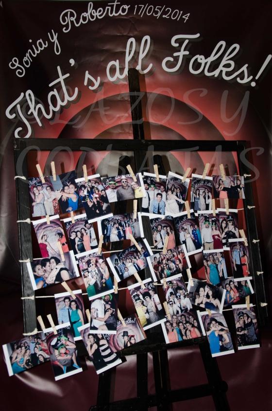 photocall para bodas Lazos y Corbatas