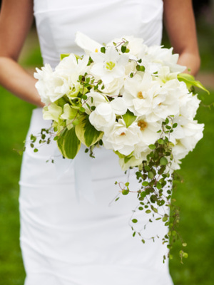 ramos de novia redondos