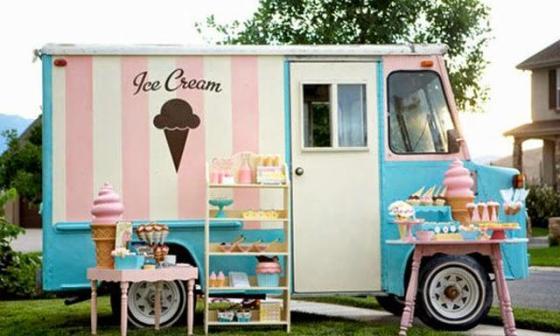 Barra libre de helados para tu boda