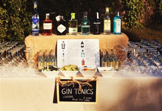 Barra de Gin Tonics