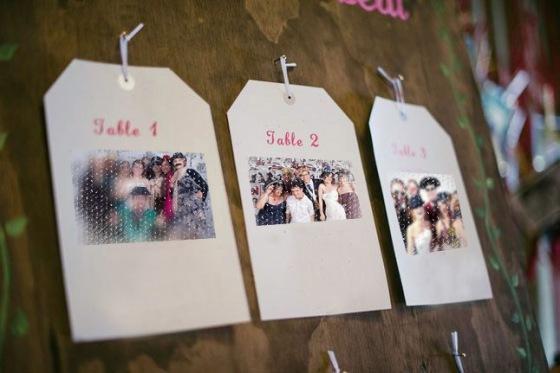 Seatting plan para bodas