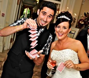 Magos e ilusionistas para bodas