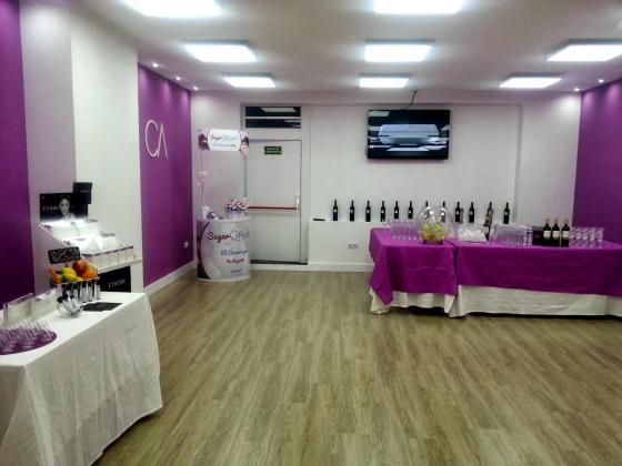 Inauguraci n de tiendas lazos y corbatas for Decoracion centro estetica
