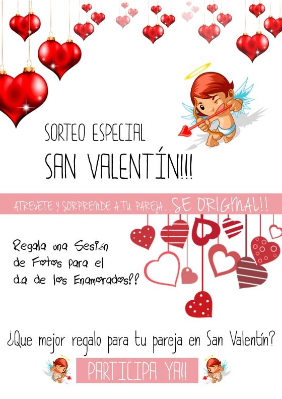 cartel sorteo san valentin